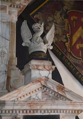phoenix on the Soame memorial, c1620