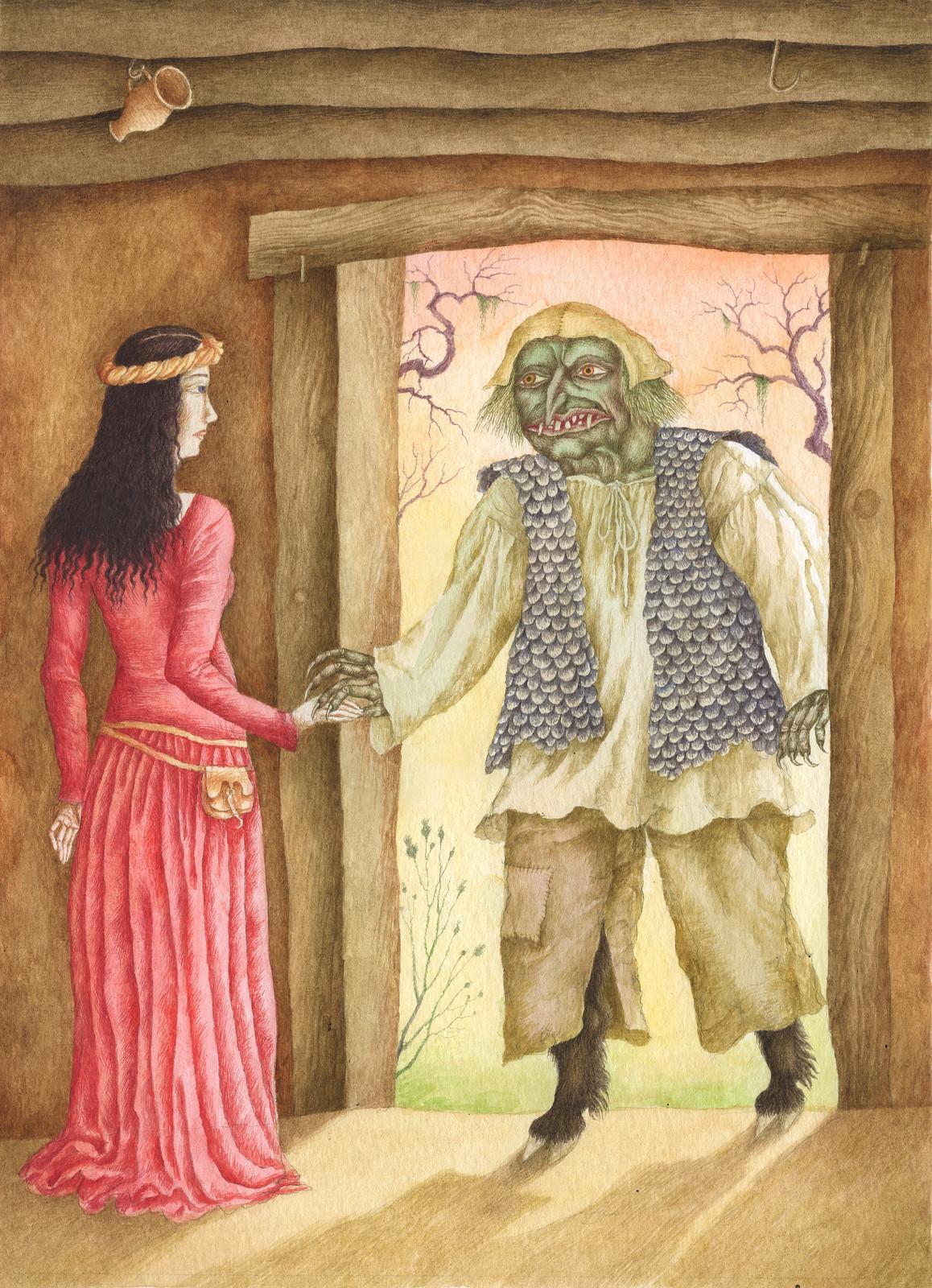 Jindra Capek - Tales of the Vikings, Illustration 2