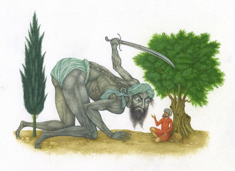 Jindra Capek - Athousand and One Nights, Illustration 5