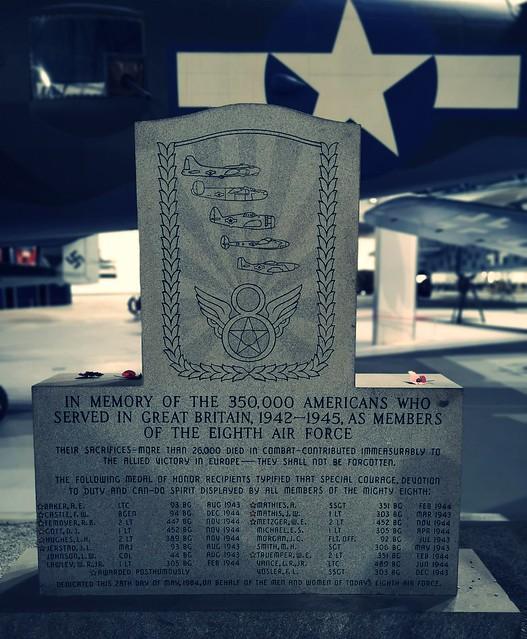 USAAF Eight Airforce Memorial