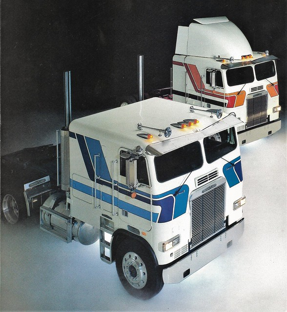 1984 Freightliner cabovers
