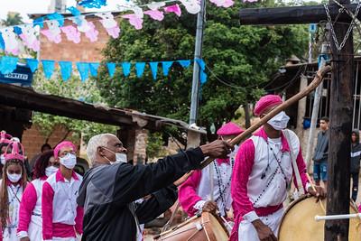 Missa Conga na Festa de Nossa Senhora do Rosário da Comunidade dos Arturos - 10/10/2021