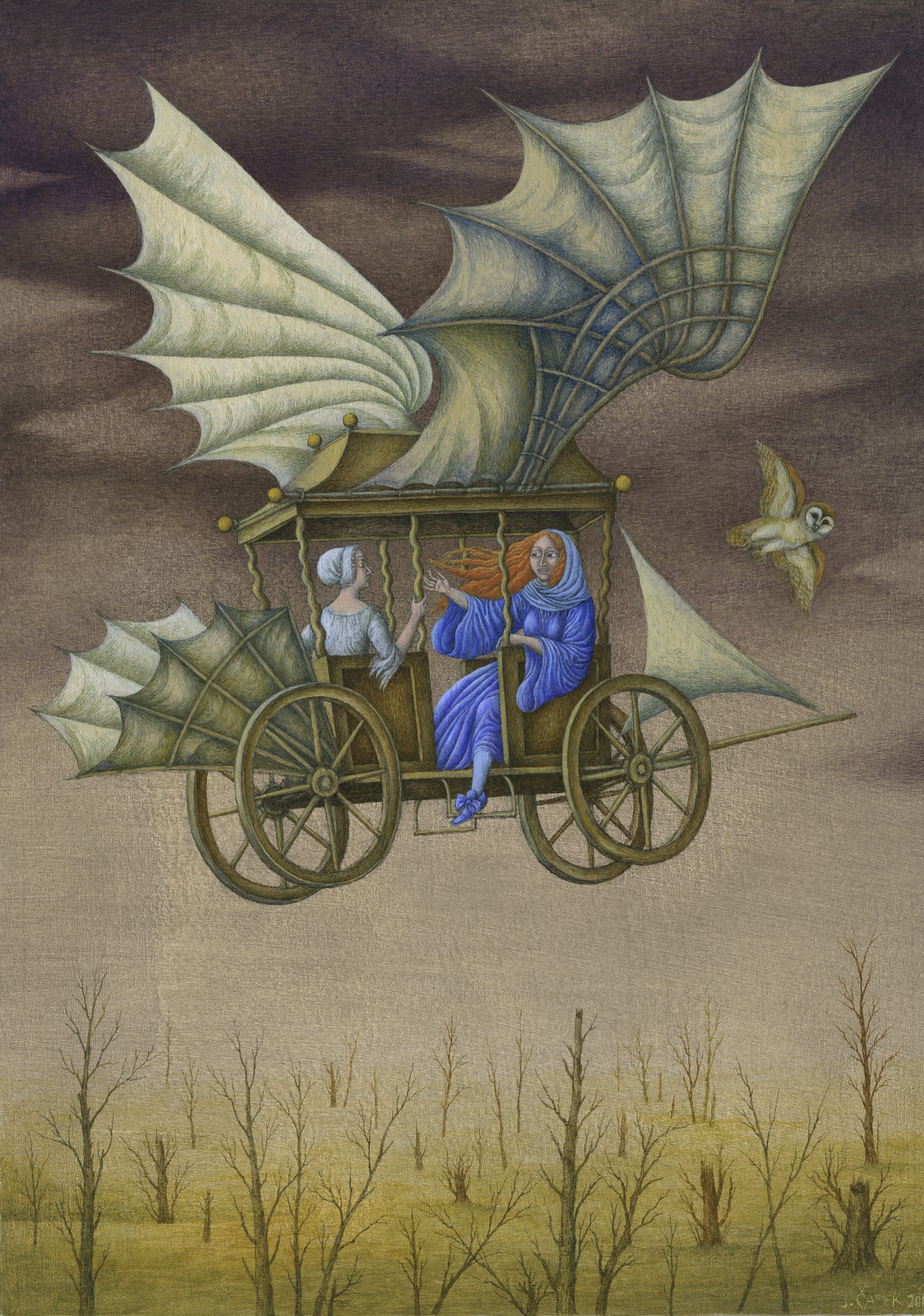 Jindra Capek - The Kingdom of Mighty Villas, Illustration 1
