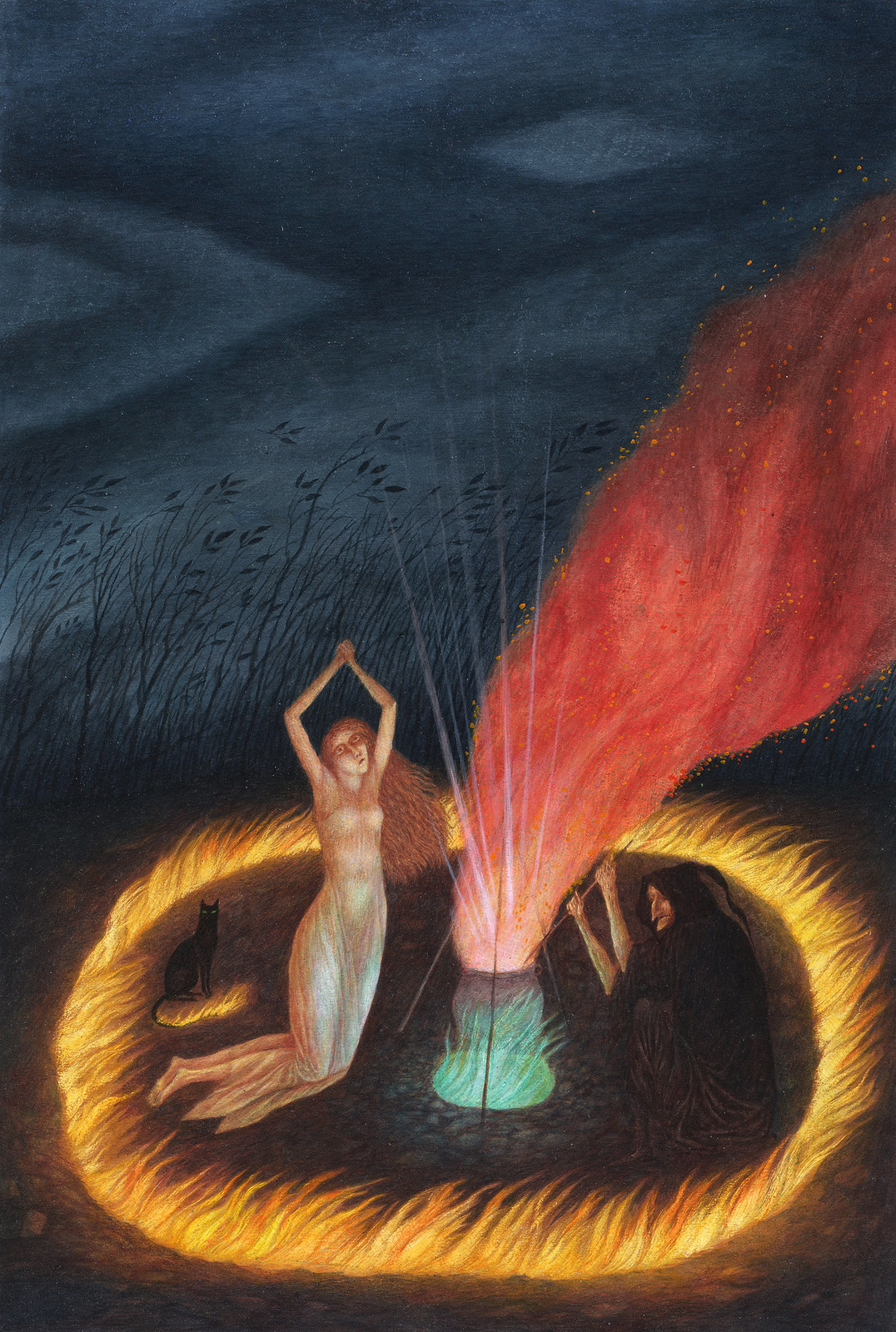 Jindra Capek - The Golden Pot, Illustration 1