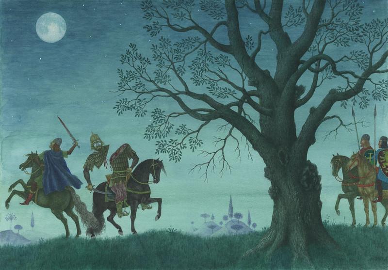 Jindra Capek - Fairy Tales of the World, Illustration 1