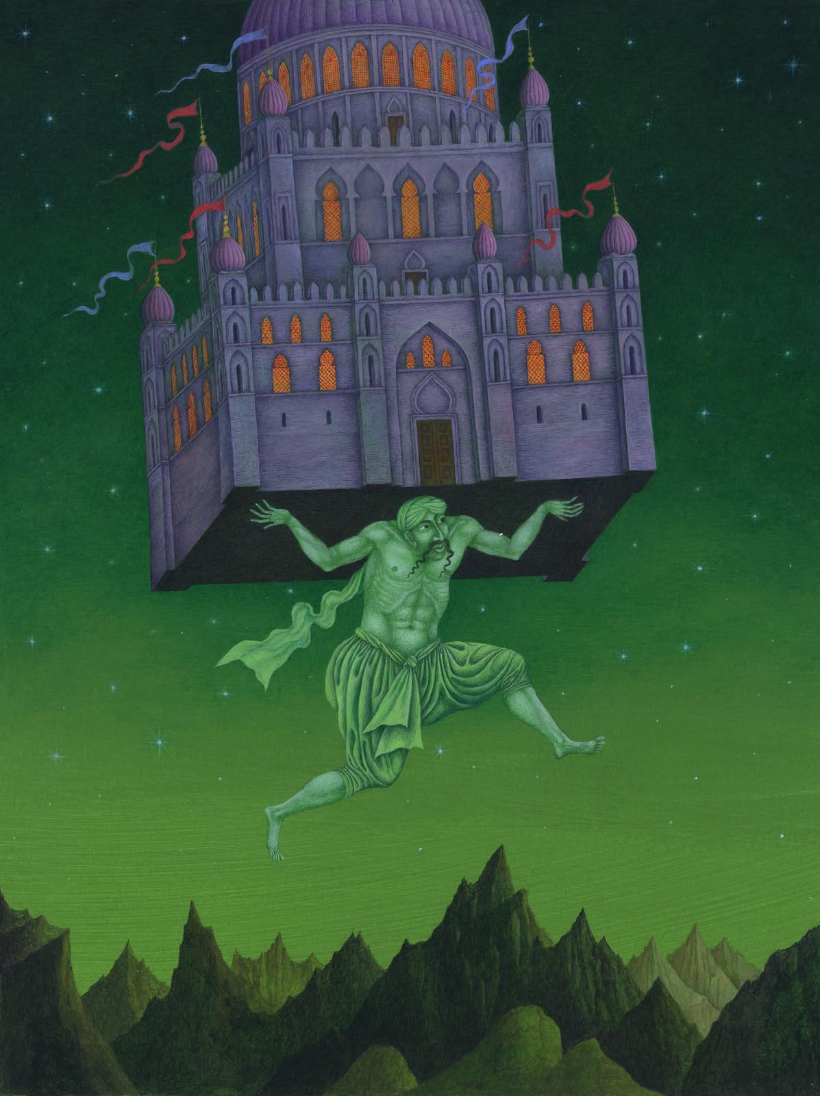 Jindra Capek - Athousand and One Nights, Illustration 2