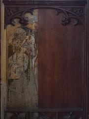 Loddon screen: Presentation in the Temple (part)