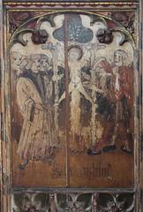 Loddon screen: Martyrdom of St William of Norwich