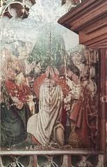 Loddon screen: Ascension of Christ