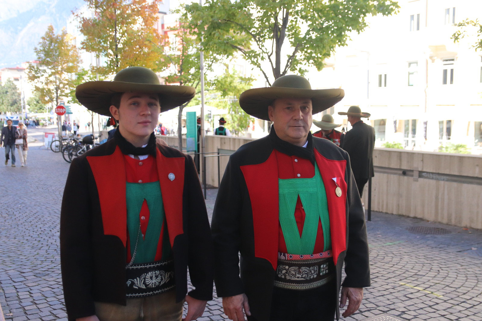 Verleihung Verdienstkreuze des Landes Tirol in Meran, 10.10.2021