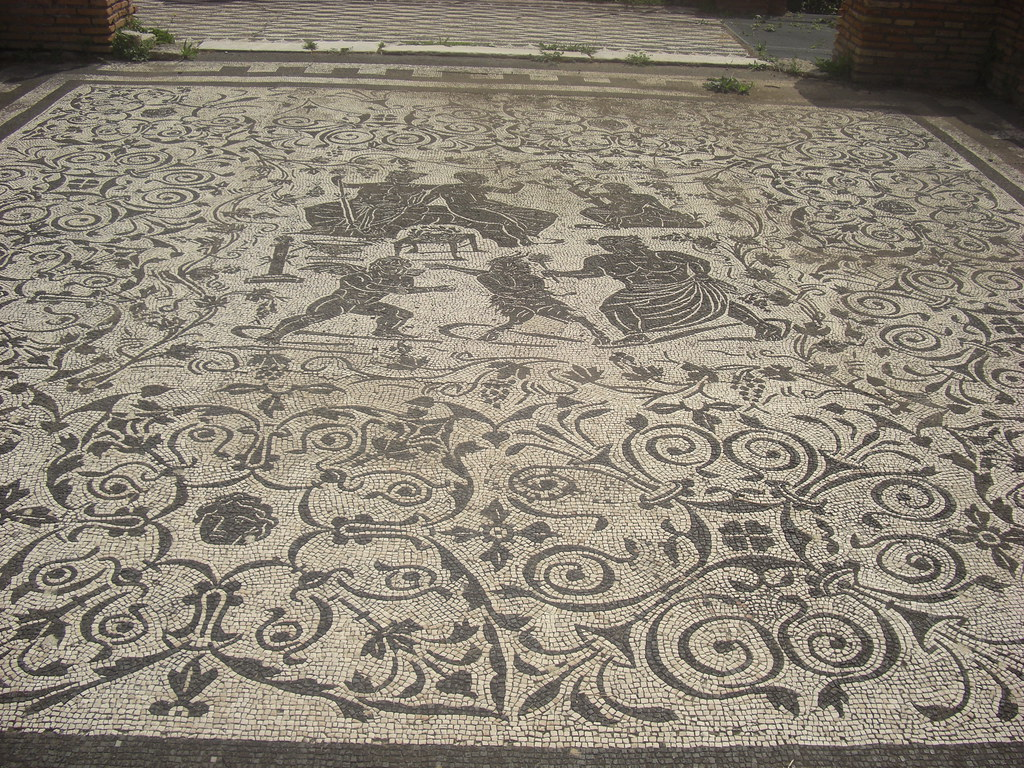 Mosaic of Bacchus and Ariadne