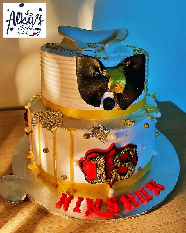Cake by Alka's Bakery