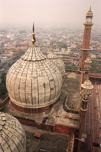The Jama Masjid, Old Delhi