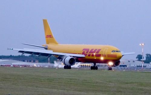 EI-DGU 'DHL Airways'. Airbus A300B4-622RF on Dennis Basford's railsroadsrunways.blogspot.co.uk'