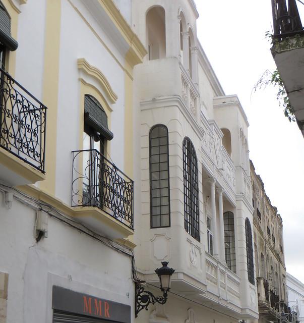 Hôtel palacio Arteaga, calle Moreto Nieto, Olivenza, comarque des Llanos de Olivenza, province de Badajoz, Estrémadure, Espagne.