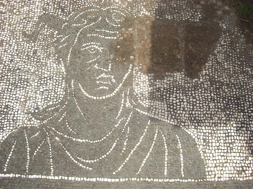 Mosaic of the Trinacria
