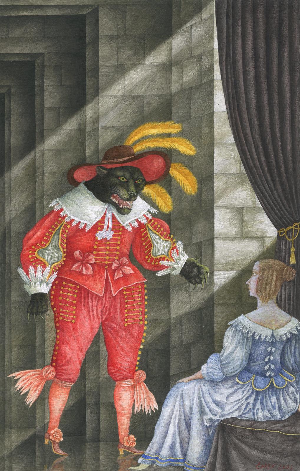 Jindra Capek - Fairy Tales of the World, Illustration 2