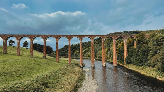 The Leaderfoot Viaduct