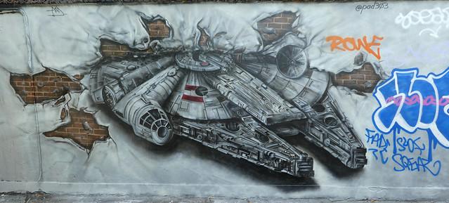 Pad 303 graffiti, Shoreditch