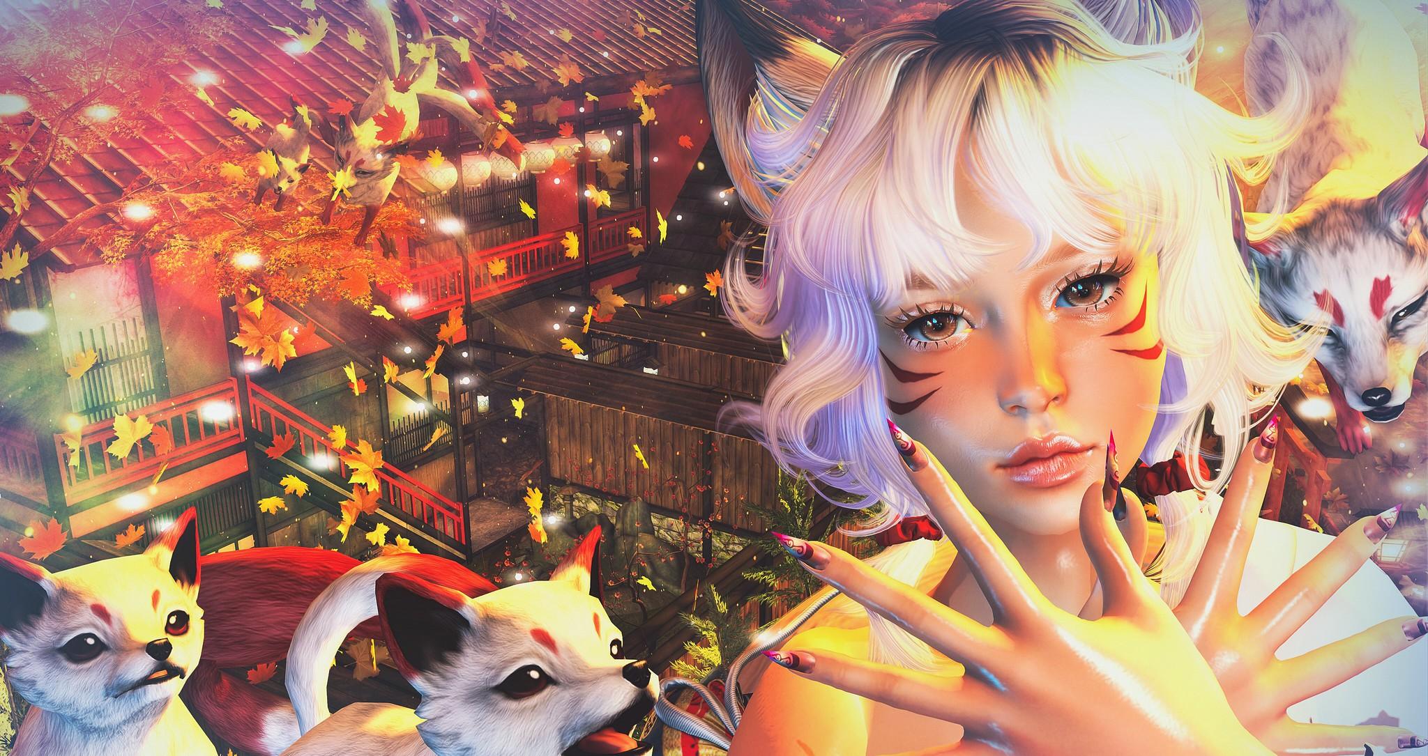 2021 1011 Lelutka New Evolution X Head@Equal10 | Glam Affair@Equal10 | Panic of Pumpkin in Okinawa 2