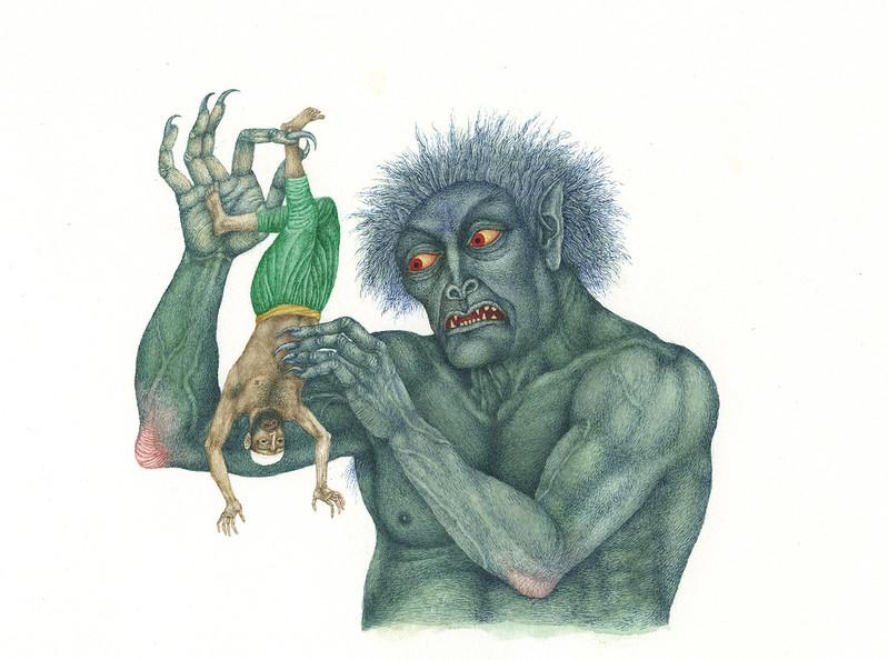 Jindra Capek - Athousand and One Nights, Illustration 3