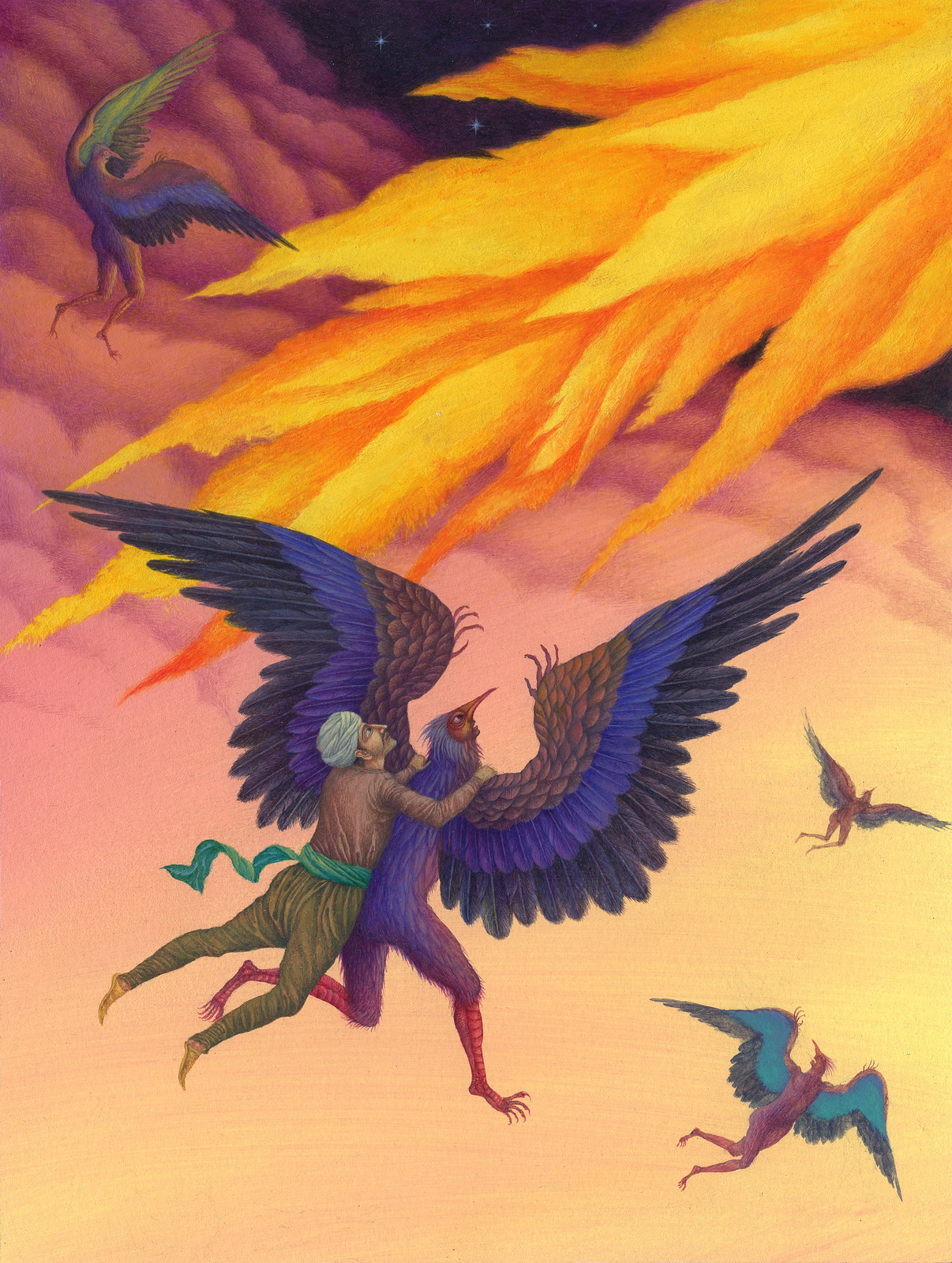 Jindra Capek - Athousand and One Nights, Illustration 1