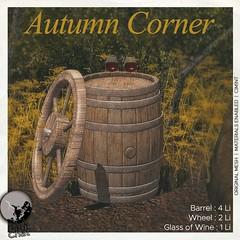 New release : Autumn Corner (groupgift for October)