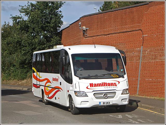Hamiltons Coaches B1 UKA
