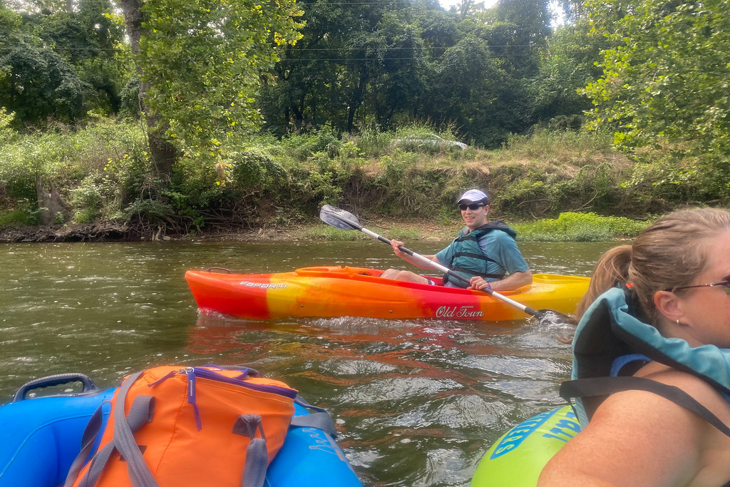 Chad's kayak