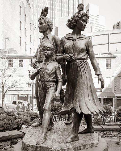 Boston Irish Famine Memorial 10/2/21