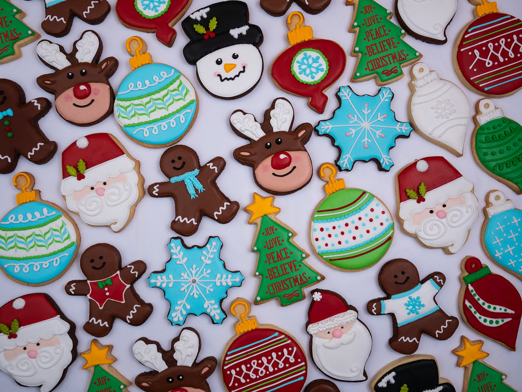 Full set of Christmas cookies