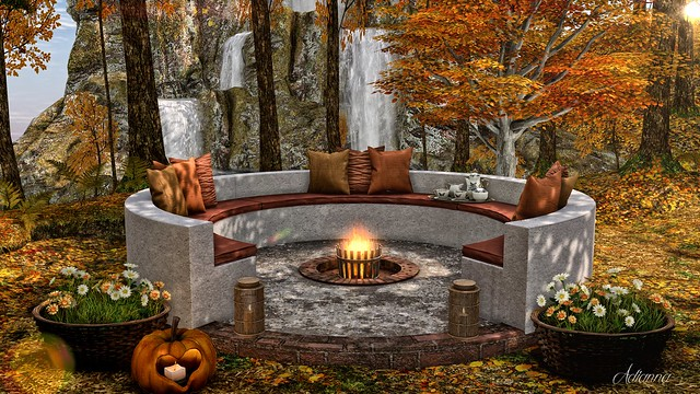 MadPea Outdoor Firepit Circle