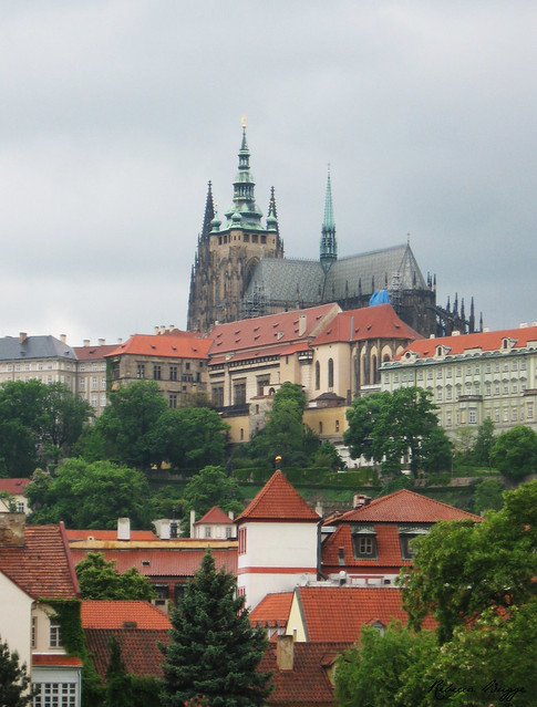 Prague view