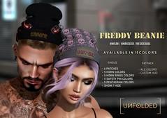 UNFOLDED X Freddy Beanie