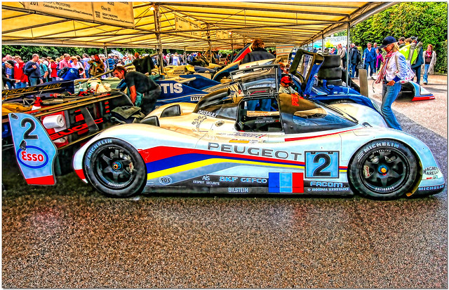 1992 Mauro Baldi / Philippe Alliot / Jean-Pierre Jabouille Peugeot 905B Group C 2007 Goodwood Festival of Speed