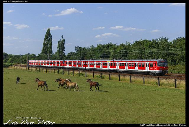 S-Bahn en Langenfeld