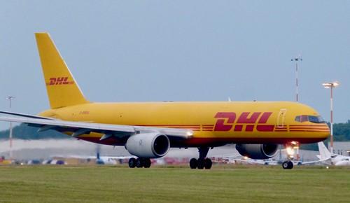 G-BMRA 'DHL Airways'. Boeing 727-236SF on Dennis Basford's railsroadsrunways.blogspot.co.uk'