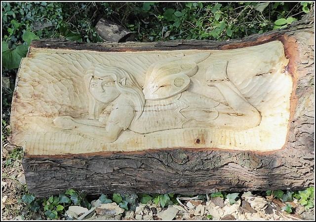 Fairy Wood Carving ...