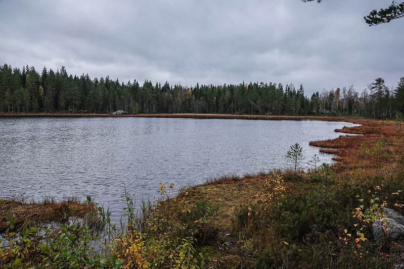 The first of five lakes