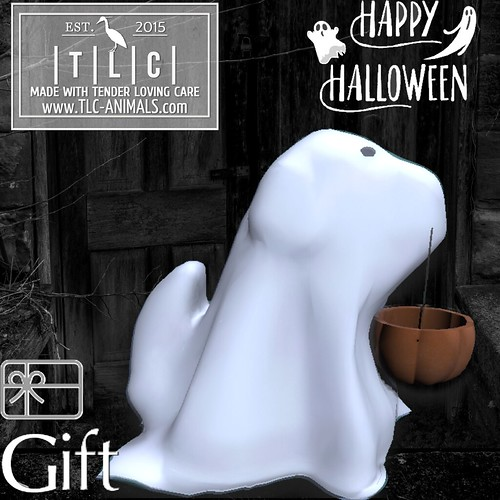 │T│L│C│Ghost dog gift @ Shop and Hop until Oct 31