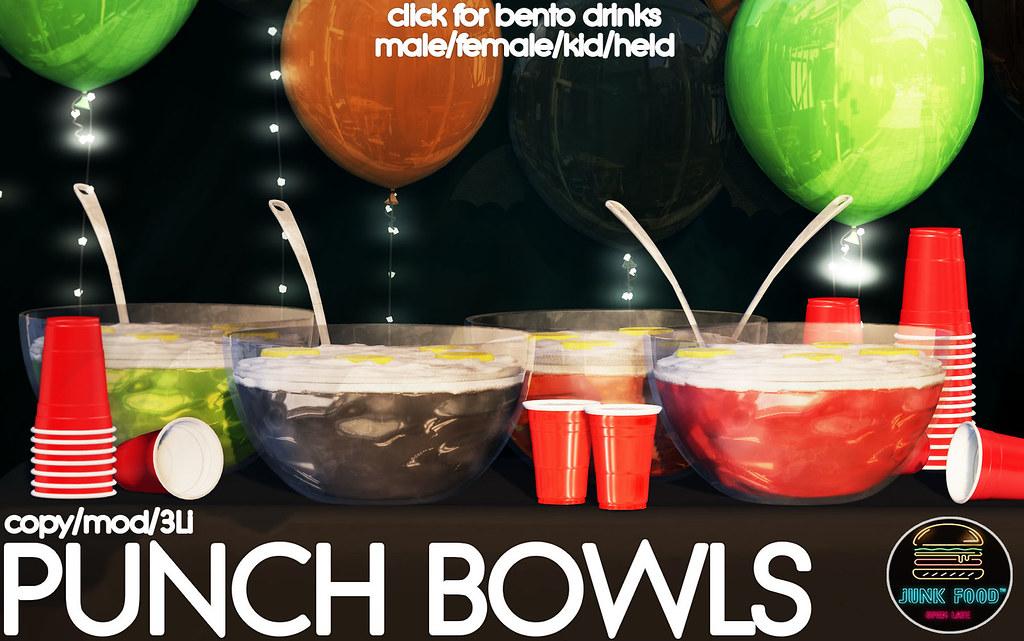 Junk Food – Punch Bowls AD