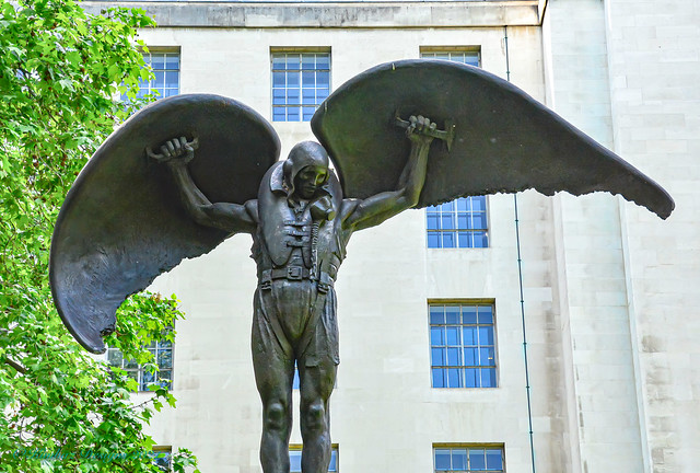 London - 5 Jun 21 - Victoria Embankment - Fleet Air Arm Memorial