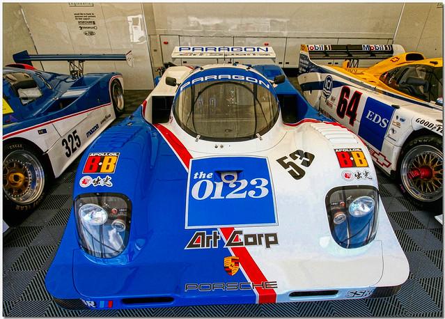 Art Corp Porsche 962 Group C Silverstone Classic 2007