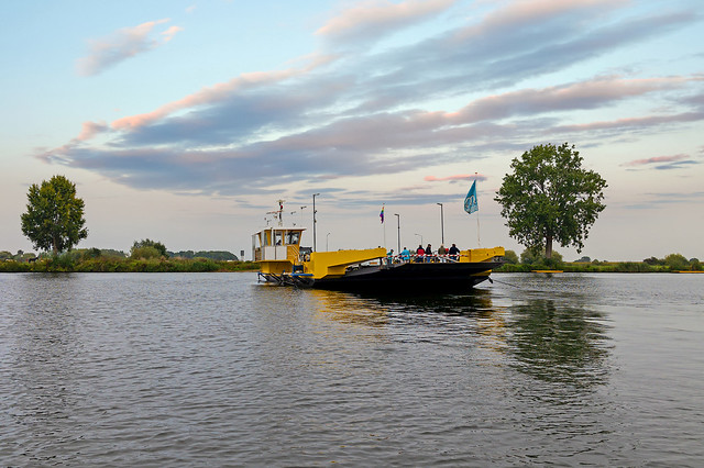 ferry over the Maas