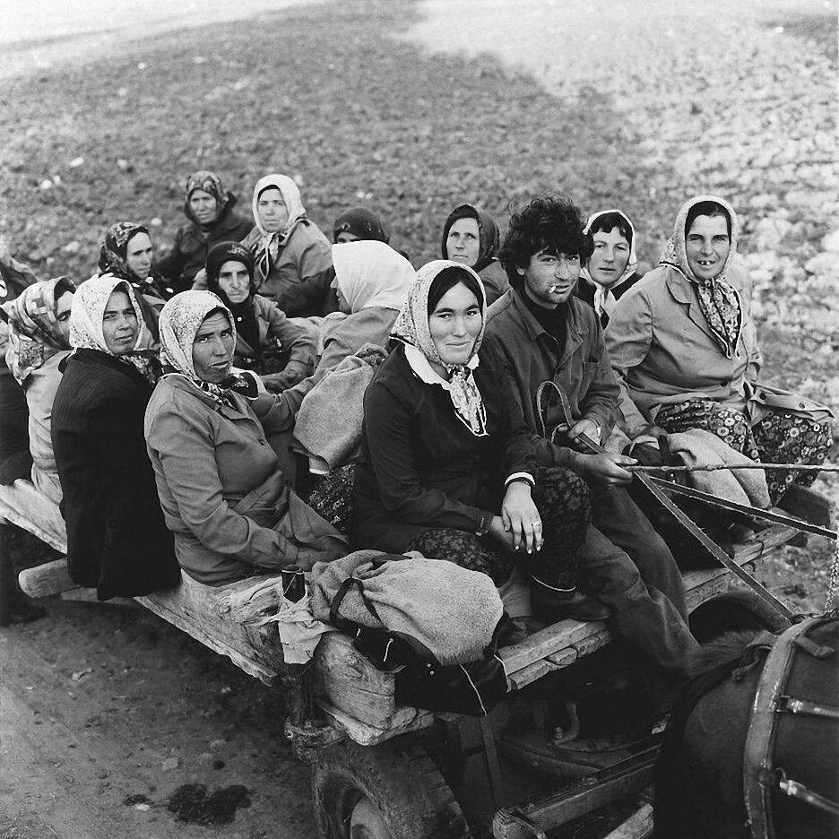 1972. Встреча с Болгарией. Жители деревни