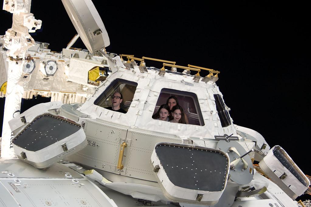 ISS visit