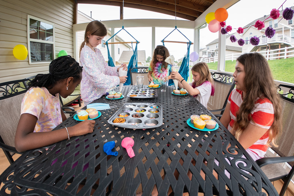 Leah's 11th birthday party