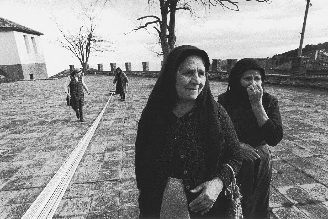 1972. Встреча с Болгарией. Сушка пряжи. Родопы