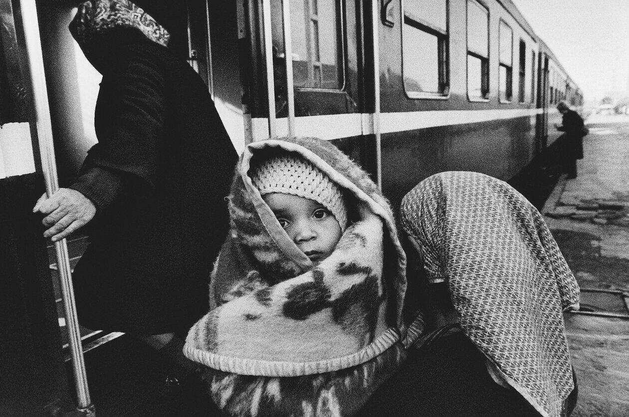 1972. Встреча с Болгарией. На вокзале в Пловдиве