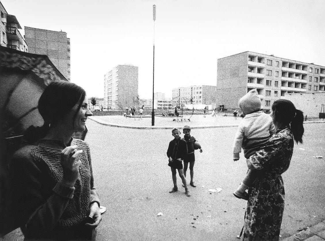 1972. Вильнюс. Соседи
